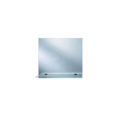Lustro łazienkowe bez oświetlenia toaletka z polką 50 x 40 cm marki Dubiel vitrum