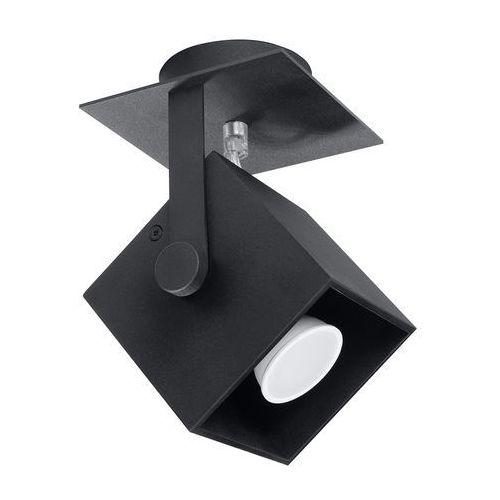 Sollux - plafon cedra 1 - czarny