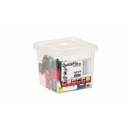 Harpun a/s Mix 160 podkładek u quick fix box - dla majsterkowicza