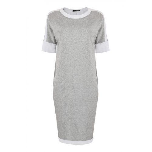 Sportowa sukienka (Kolor: szary, Rozmiar: 46)