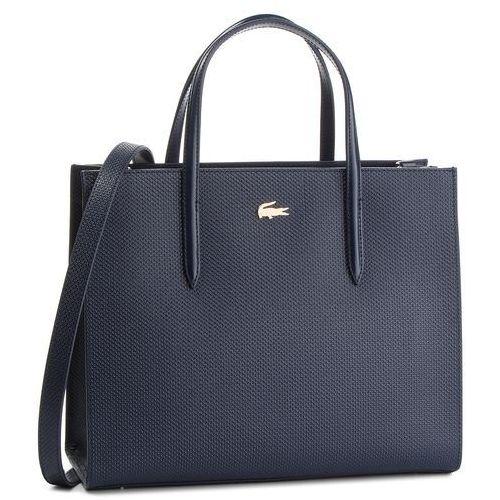 Torebka - l shopper bag nf2563ce peacoat 021 marki Lacoste