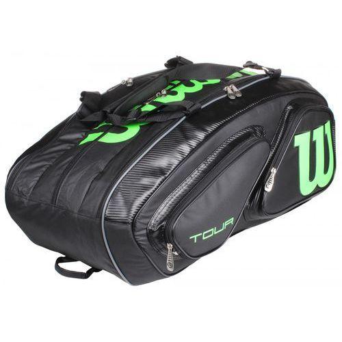 Wilson tour v 15 pack black green