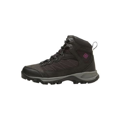 Columbia cascade pass waterproof buty trekkingowe black/intense violet