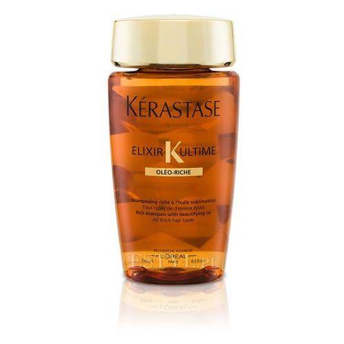 Kerastase Elixir Ultime Oleo-Riche Bain   Odżywcza kąpiel do włosów normalnych i grubych - 250ml, 905
