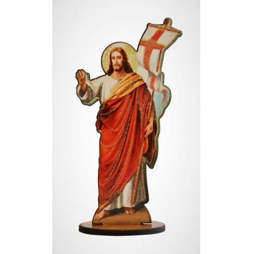 Drewniana figurka zmartwychwstałego chrystusa marki Produkt polski