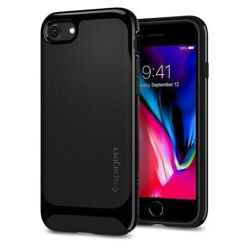 Spigen Etui neo hybrid herringbone iphone 8/7 shiny black (8809565300929)