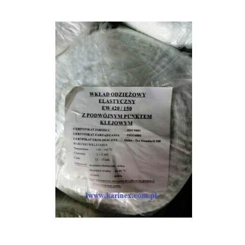 Vateks Wkład odzieżowy elastyczny e 420/150 biały 100 mb. zamiennik dla e 4270/150 białego