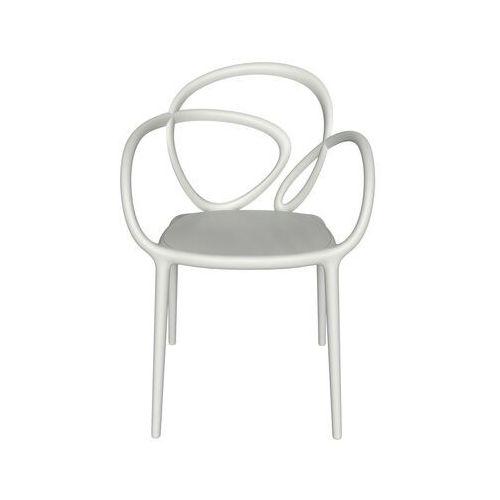 krzesło loop biały 2 szt 30001wh marki Qeeboo