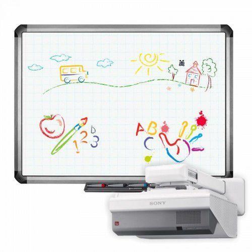Interwrite Tablica truboard r5-800e+ projektor ultrashort sony vpl-sx631 z uchwytem