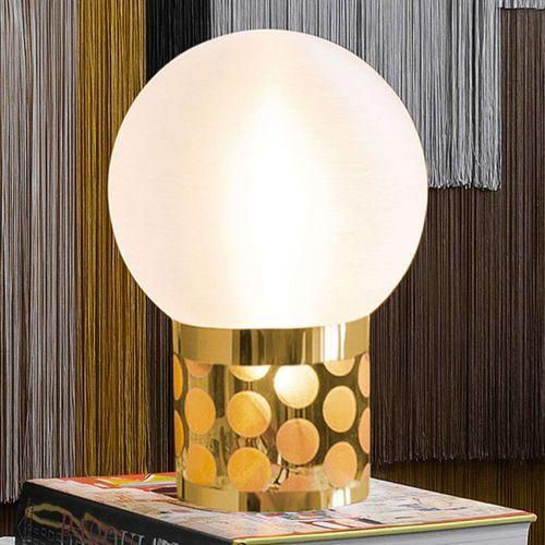 Slamp Atmosfera lampa stołowa, Ø 30 cm, złota (8024727080697)