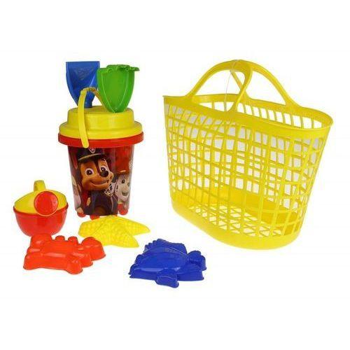 Koszyk i wiaderko z akcesoriami Psi Patrol DKI8272 - TM Toys (5908273082721)