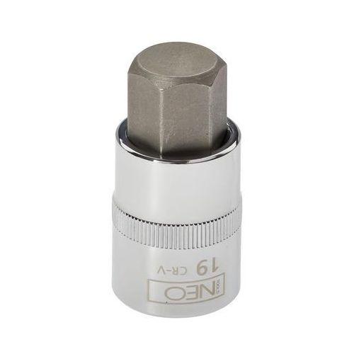 """Neo Końcówka sześciokątna na nasadce 1/2"""" h19 x 55 mm 08-778 (5907558409840)"""