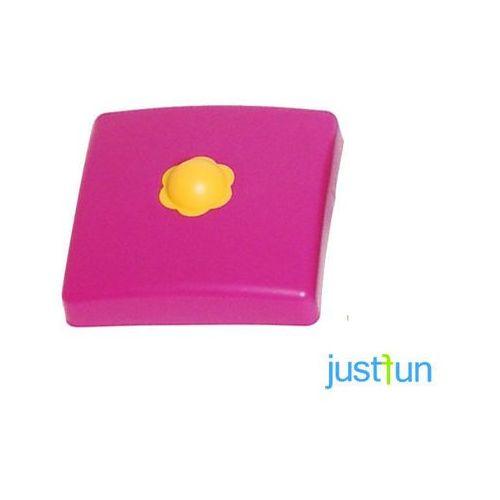Plastikowa nakładka na belkę kwadratową 95x95 mm - fioletowy marki Just fun