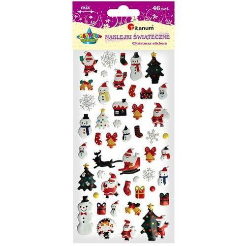 Titanum Dodatek dekoracyjny craft-fun naklejka 3d snowman diyxm003s (m003s)