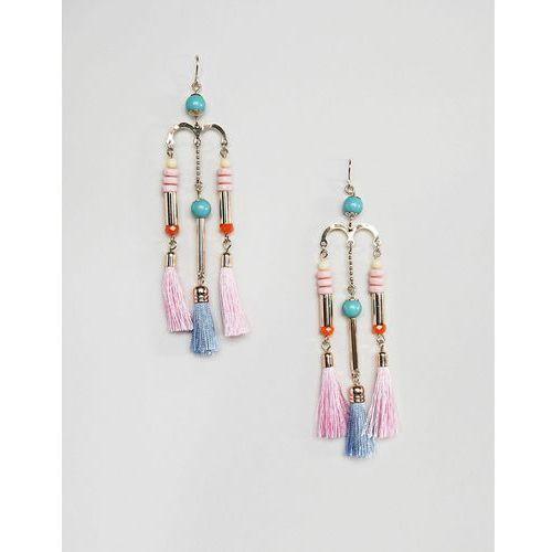 tassle dangle earrings - gold marki Pieces