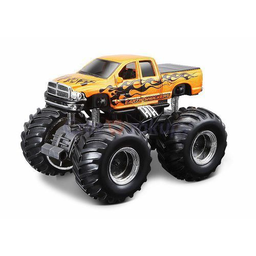 Maisto Earth Shockers Monster Trucks Dodge Ram Quad Cab