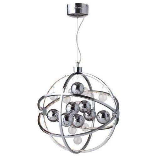Lampa wisząca globe led 105459 dekoracyjna oprawa led metalowy zwis kula ball chrom marki Markslojd