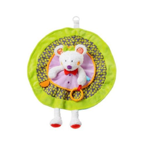 Fehn  szmacianka/przytulanka myszka deluxe - fluo' kiddos (4001998070255)