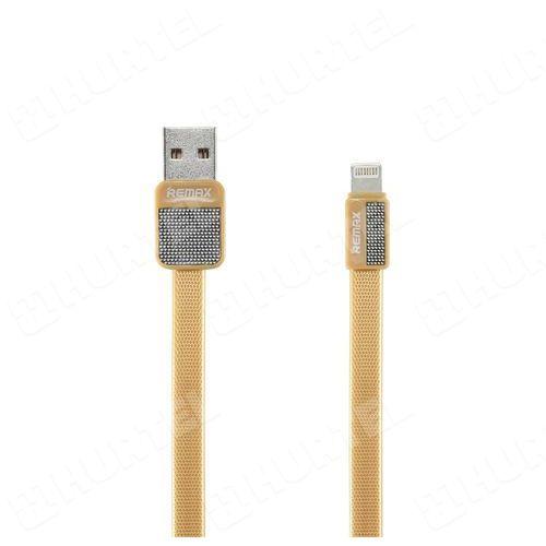 REMAX RC-044i Platinum kabel USB Lightning 1m złoty - Złoty