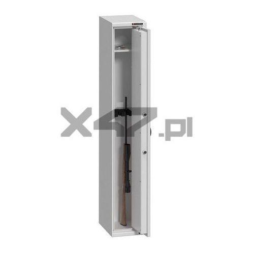 Konsmetal Szafa na broń długą mlb 125/3 s1 - zamek kluczowy