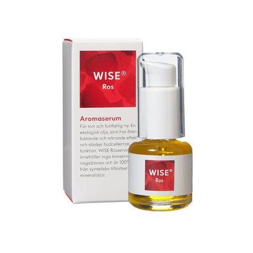 Organiczne Serum do skóry naczynkowej, suchej i normalnej WISE Aroma Serum Rose 15ml