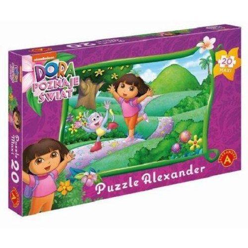 Alexander Puzzle 20 maxi - dora kolorowa kraina