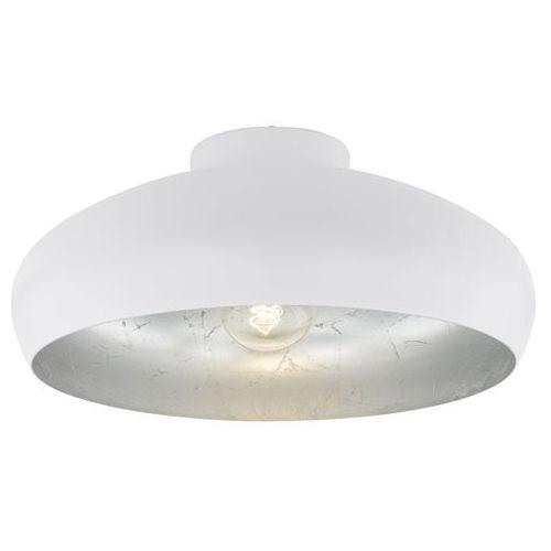 Eglo Plafon lampa sufitowa mogano 94548 oprawa metalowa okrągła biała