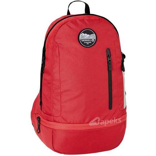 Merrell cowen plecak miejski / sportowy - scarlet red (5711013025199)