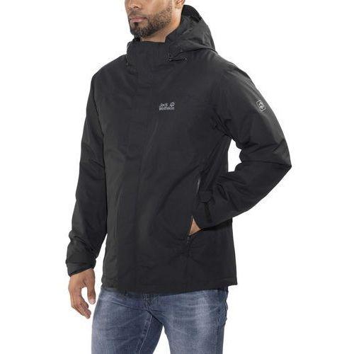 northern edge kurtka mężczyźni czarny xxl 2018 kurtki zimowe i kurtki parki marki Jack wolfskin