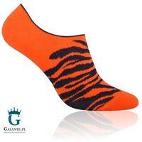 More Skarpetki męskie tygrys 005-098 pomarańczowe