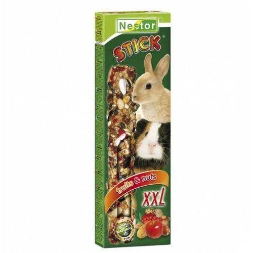 NESTOR Kolba XXL z owocami i orzechami dla dużych gryzoni i królików 2szt.