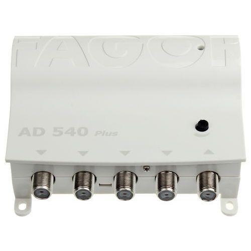 Wzmacniacz antenowy fagor ad540 plus 1wej.+4wyj marki Corab