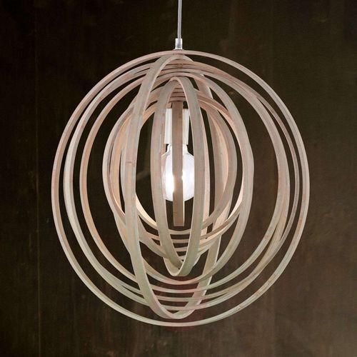 boolan lampa wisząca ciemne drewno, 1-punktowy - nowoczesny - obszar wewnętrzny - boolan - czas dostawy: od 4-8 dni roboczych marki Trio