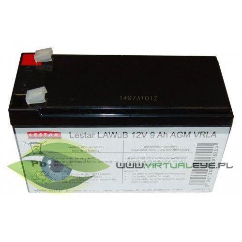 Żelowy akumulator wymienny Lestar LAWuB 12V 9Ah AGM VRLA, 1966007520