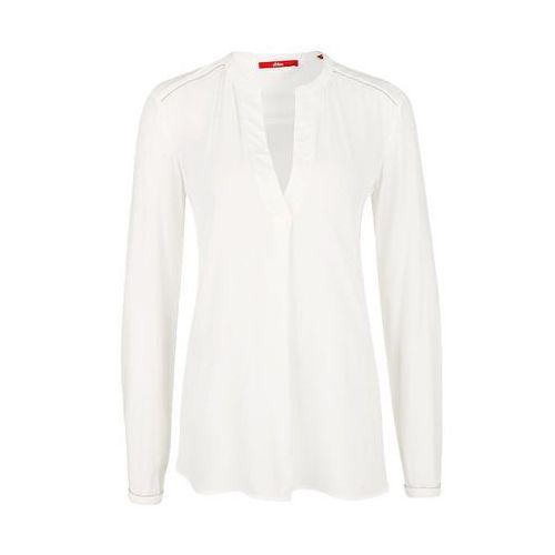 s.Oliver bluzka damska 36 kremowy, w 8 rozmiarach
