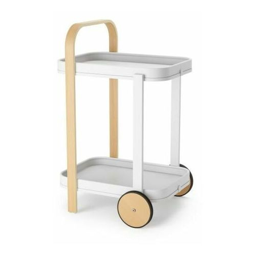 Bellwood wózek do serwowania biały/natur alny
