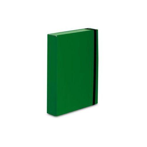 Teczka z gumką caribic box a4 341/06 zielona marki Vaupe