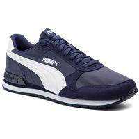 Sneakersy - st runner v2 nl 365278 08 peacoat/puma white, Puma, 44-45