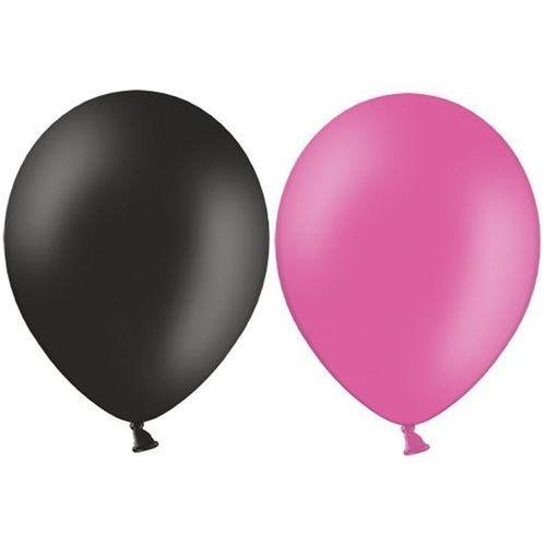 Hakuna Balony czarne i różowe 10szt PANIEŃSKI !!!