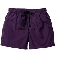 Szorty plażowe ciemny lila marki Bonprix