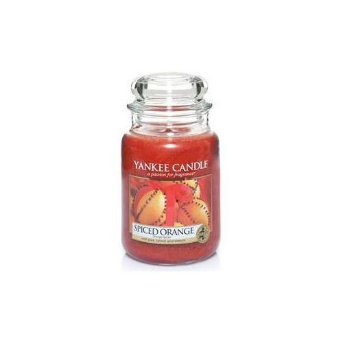 Yankee candle Świeca zapachowa duży słój spiced orange 623g