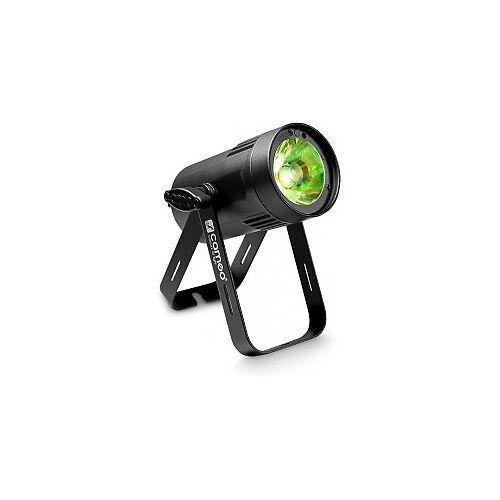 Cameo light  q-spot 15 w - compact spot light with 15w warm white led in black housing, kategoria: pozostały sprzęt nagłośnieniowy i studyjny