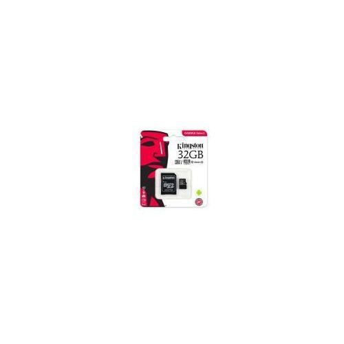 karta pamięci Kingston Canvas Select microSDHC 32GB class 10 UHS-I U1 - 80MB/s + adapter, SDCS/32GB