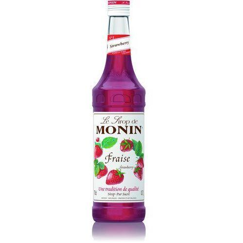 Monin Syrop smakowy strawberry, truskawka 0,7l (3052910056261)