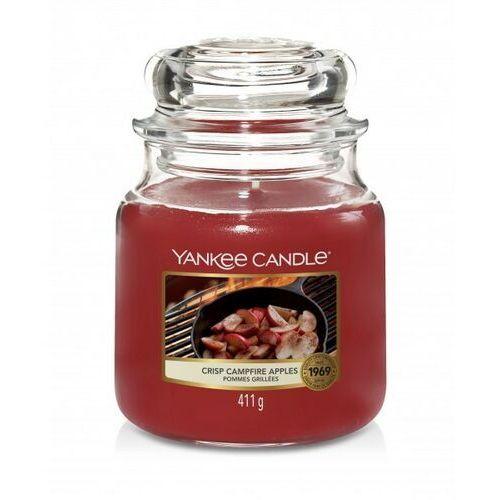 Yankee candle świeca crisp camfire apples 411g