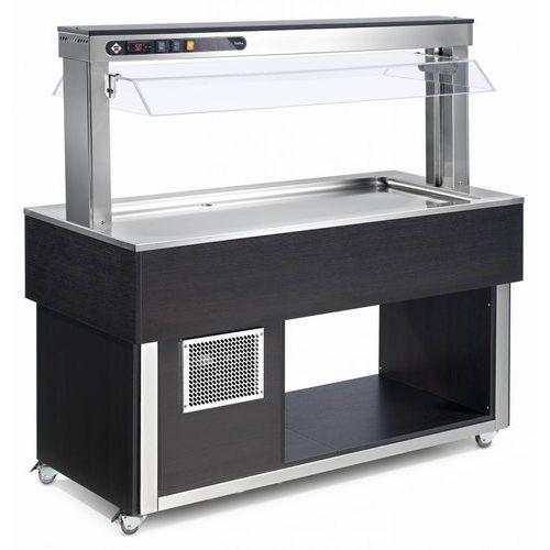 Witryna chłodnicza | 3xGN 1/1-200 | 1169x650x(H)1481mm