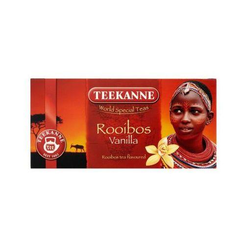 20x1,75g world special teas rooibos vanilla herbata o smaku waniliowym marki Teekanne