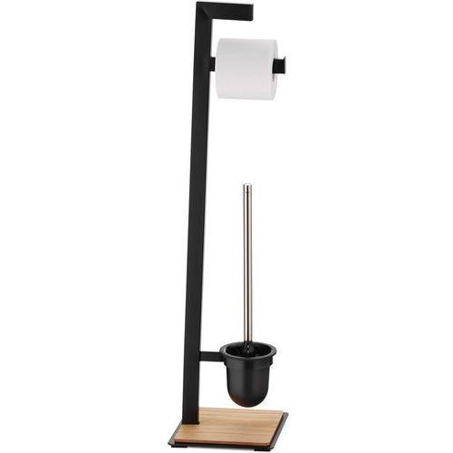 Stojak na papier toaletowy i szczotka do WC OAK Kela (KE-24260) (4025457242601)