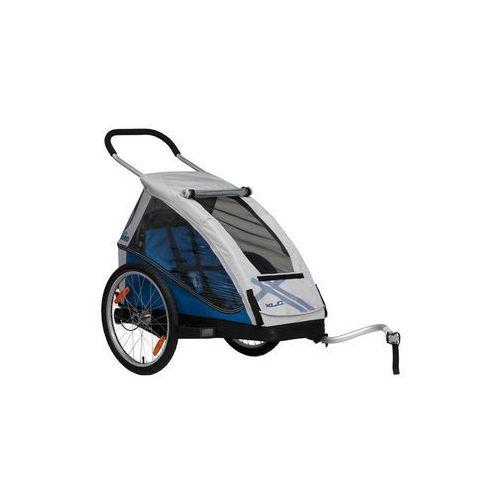 mono przyczepka rowerowa szary/niebieski 2018 przyczepki dla dzieci marki Xlc