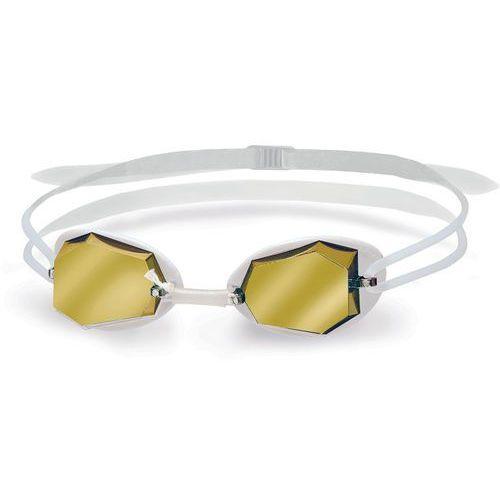 Head diamond okulary pływackie mirrored biały 2018 okulary do pływania